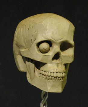 Écorché Skull